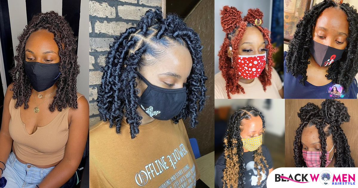 50 Butterfly Locs Hairstyles You Should Try (TUTORIAL 🦋)