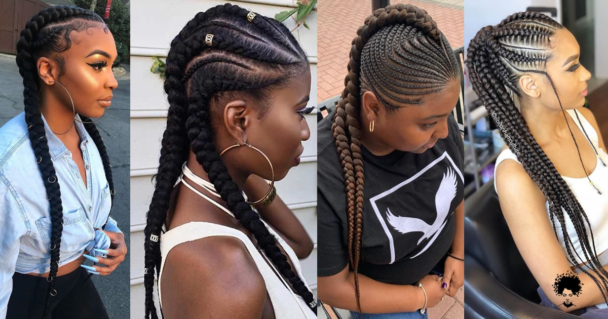 51 Awesome Cornrow Braids Hairstyles That Turn Head In 2021