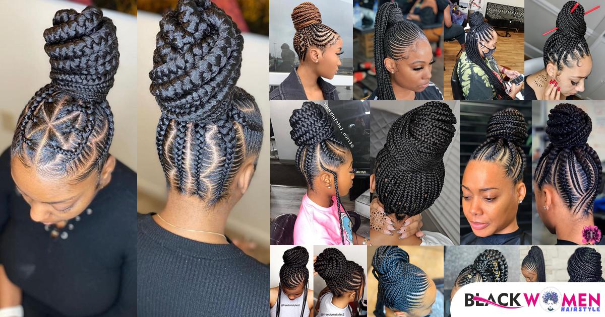 Top 150 Latest Ghana Weaving Shuku Styles 2021: Ghana Braids 2021