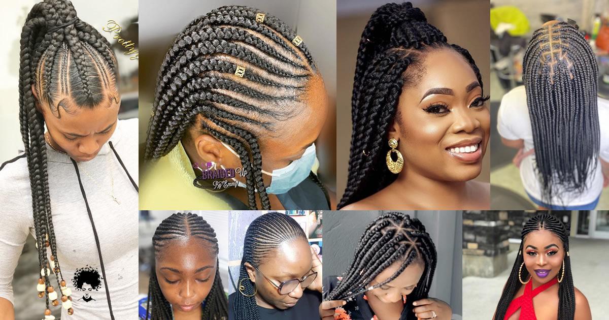 133 Stylish Ghana Fluffy Hairstyles in Nigeria 2021