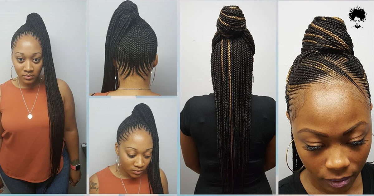 2021 Braided Hairstyles : Top Amazing Braids Styles for Ladies