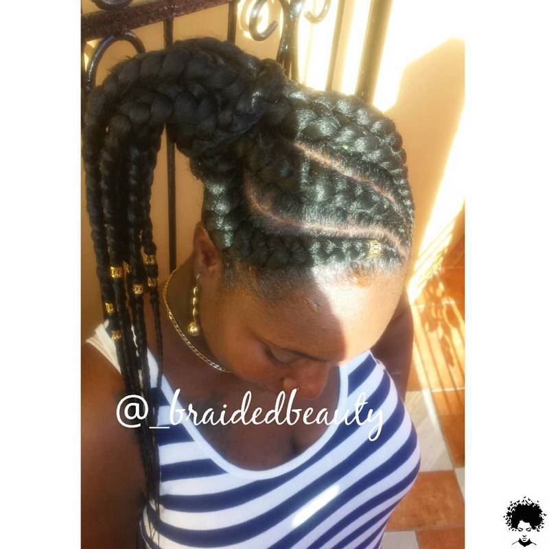 2021 Braided Hairstyles Top Amazing Braids Styles for Ladies 001