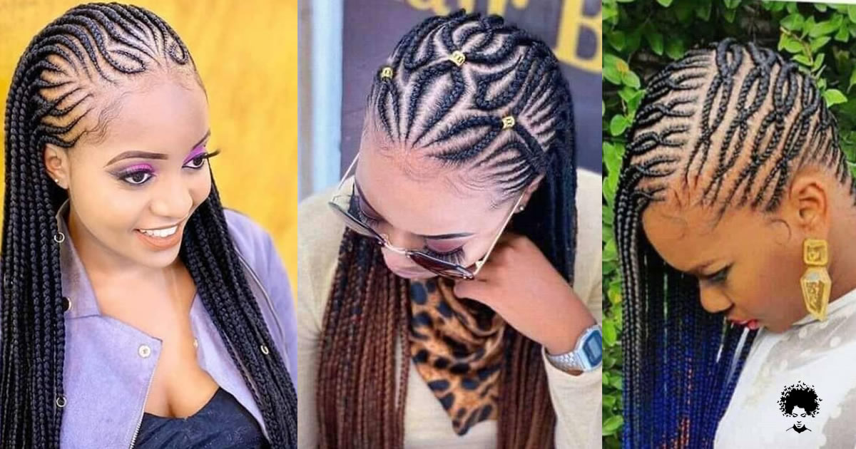 76 Ghanaian Braided Hairstyles That Will Gather Your Hair