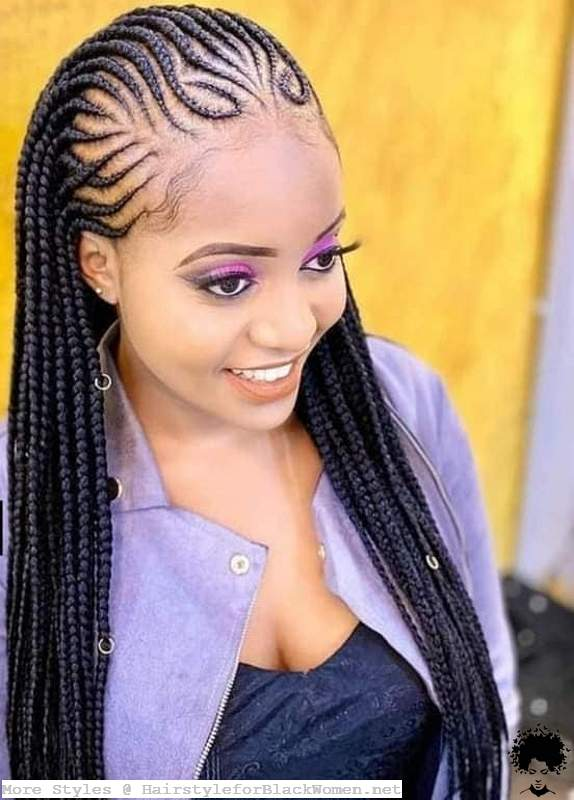 22 Ghanaian Braided Hairstyles That Will Gather Your Hair005