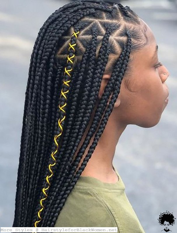 37 Knotless Box Braids These Models Are More Useful Than You Think 019