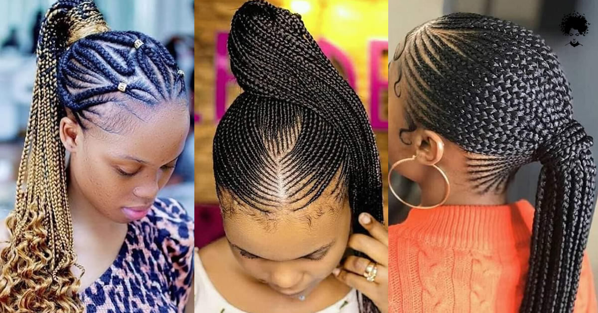 Fascinate With Different Colors And Different Knitting Patterns! 62 Ghana Braids Styles