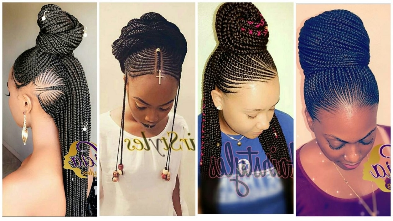 56 Ghana Braided Hairstyles with Different Designs
