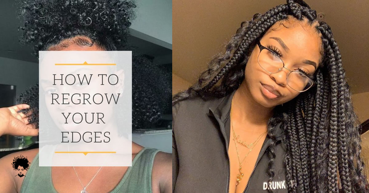How to Thicken Your Hair Egdes In Natural Way