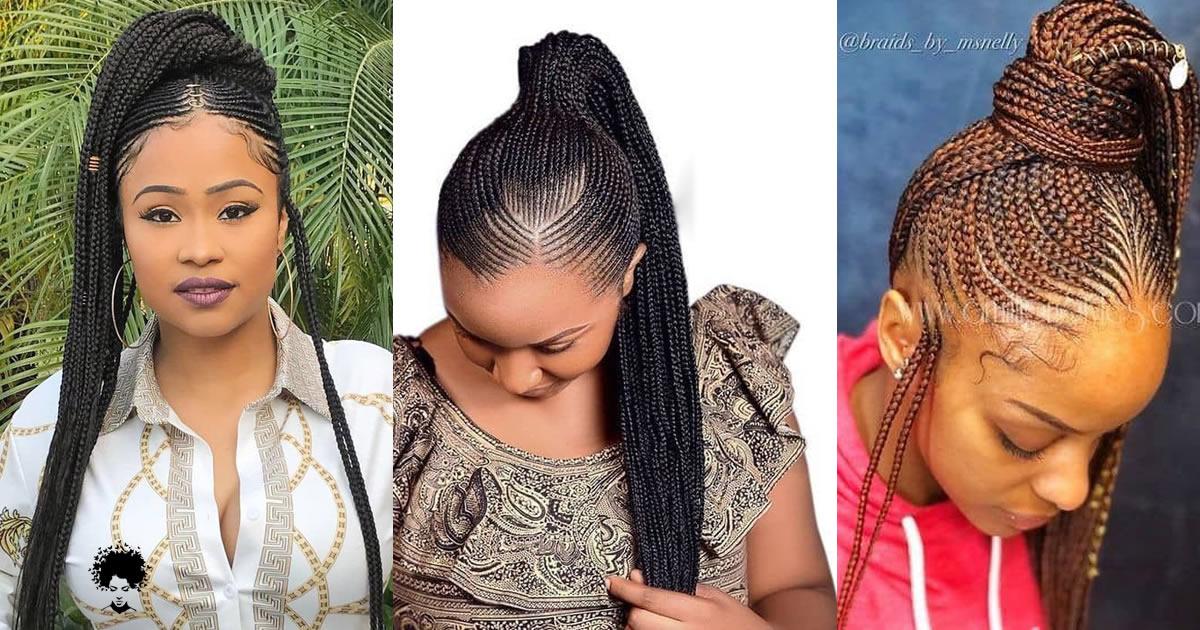 Latest Ghana Weaving Hairstyles You Should Wear Soon