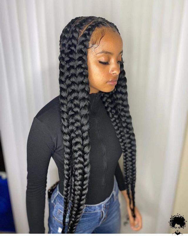 Latest Ghana Weaving Styles 2021 Beautiful Braids You Will Love 006