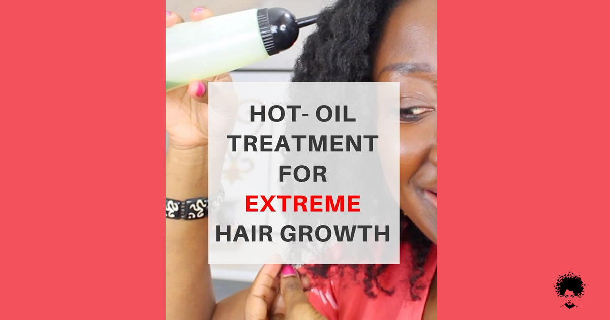 Miracle Method Hot Oil Treatment For Your Dry Hair