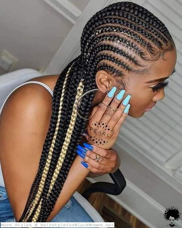 These 59 Braids Models That Progress In A Certain Line Will Impress You Very Much 2021002
