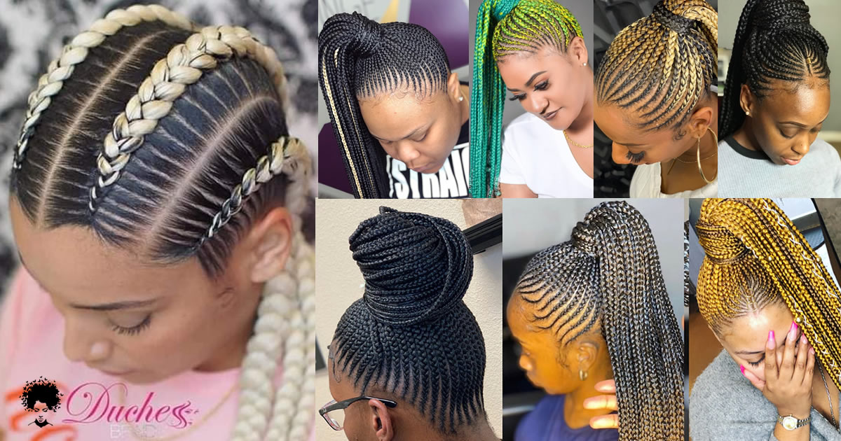 These 57 Braids Models That Progress In A Certain Line Will Impress You Very Much!