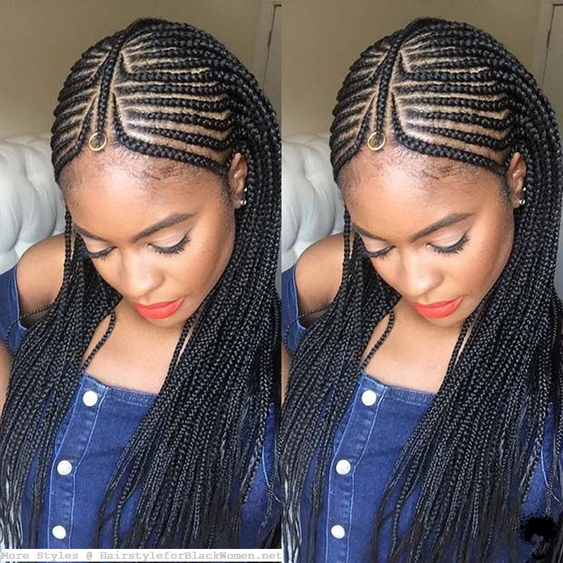Which Color is More Suitable with Ghana Braid Hair Weaves 2021023