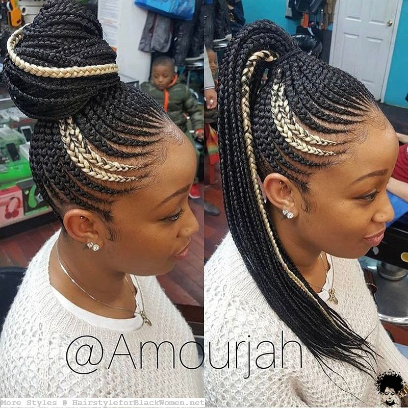 Which Color is More Suitable with Ghana Braid Hair Weaves 2021039