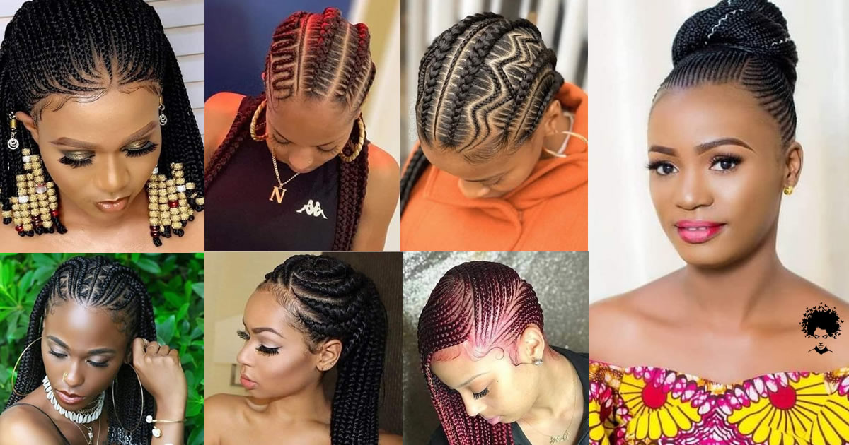 111 New Ghana Braided Hairstyles That African Women Should See
