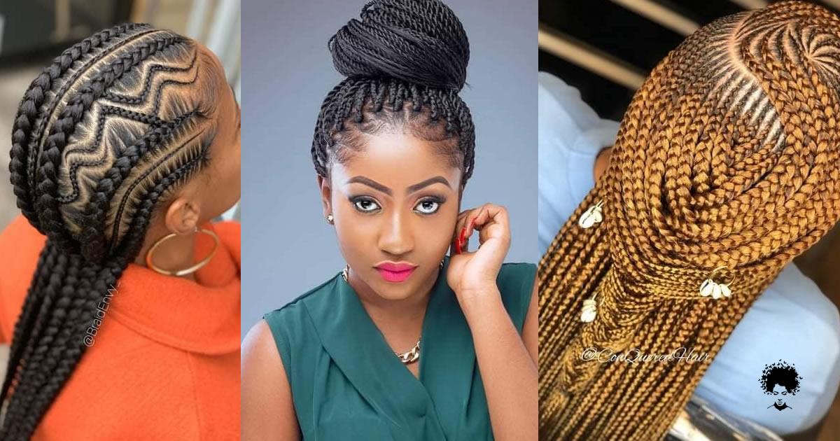 33 New Ghana Braided Hairstyles Women Must See