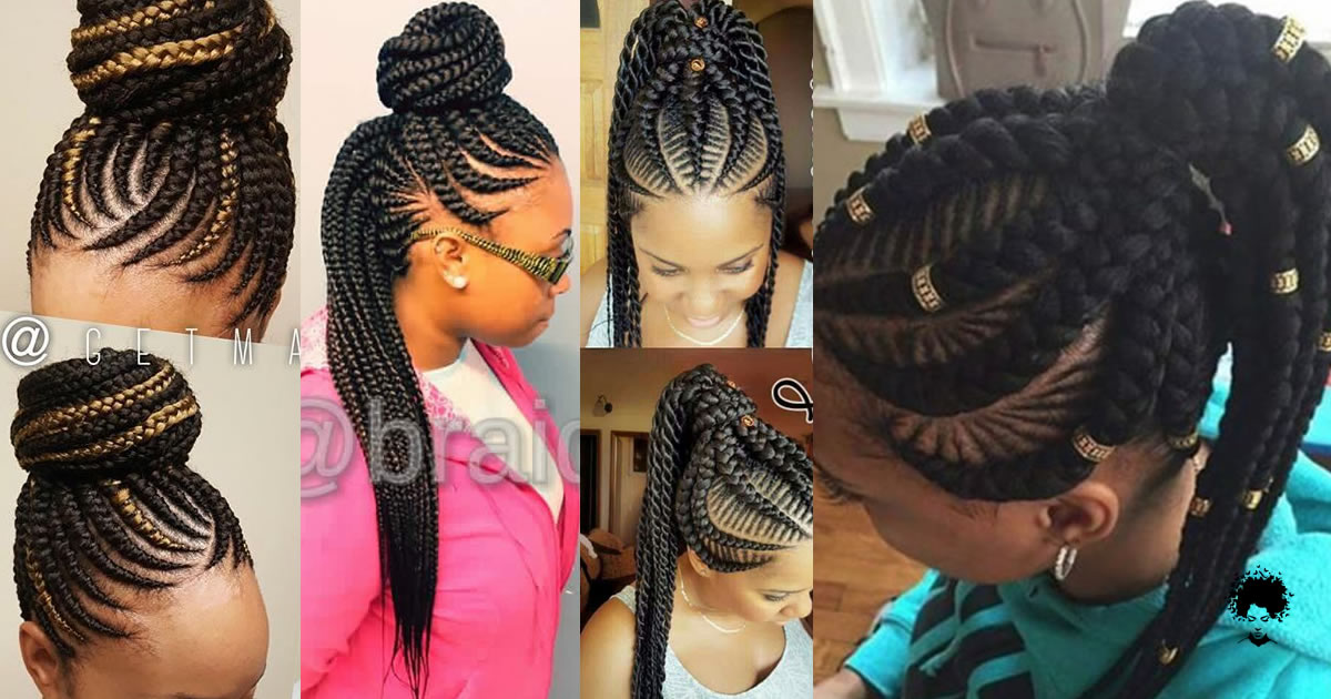 40 Ghana Braided Hairstyles To Try Now