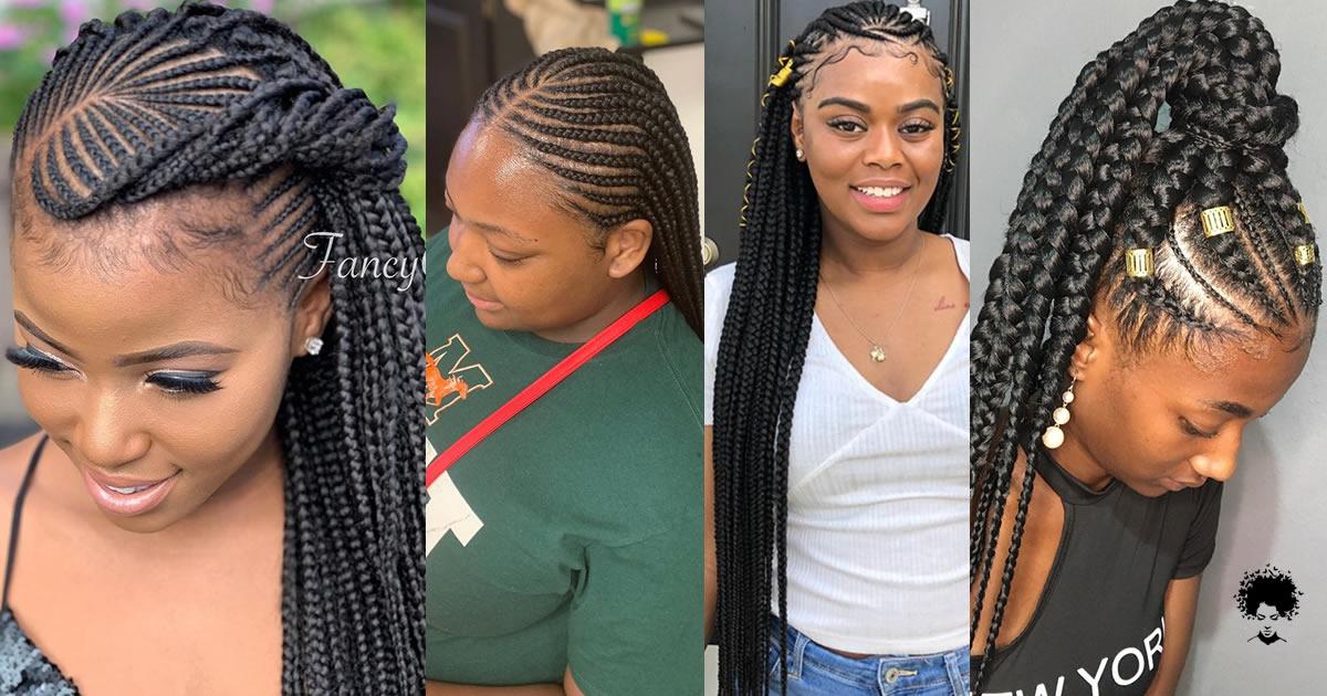 40 More Trendy Ghana Weaving Hairstyles for Cute Girls