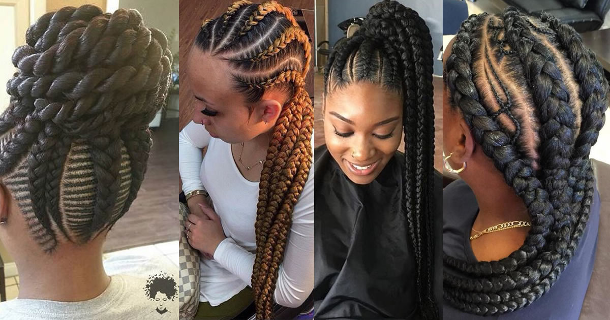 52 Best Ghana Braid Hairstyles For 2021 Amazing Ghana Braids To Try Out This Season