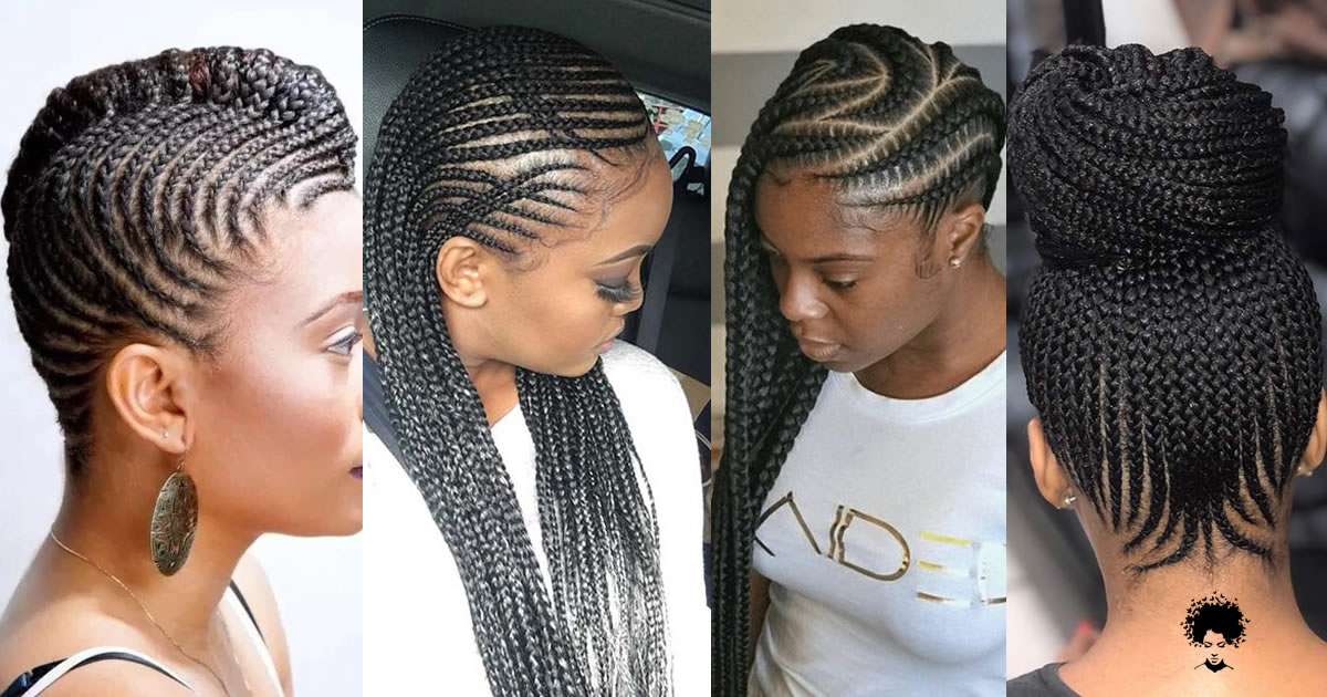 70 Latest Pictures of Nigerian Braided Hairstyles