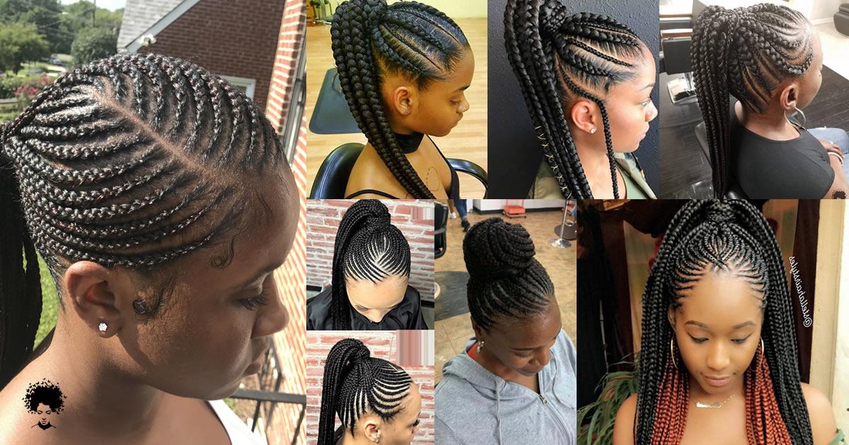 89 Brand New Ghana Weaving Hairstyles For Black Women