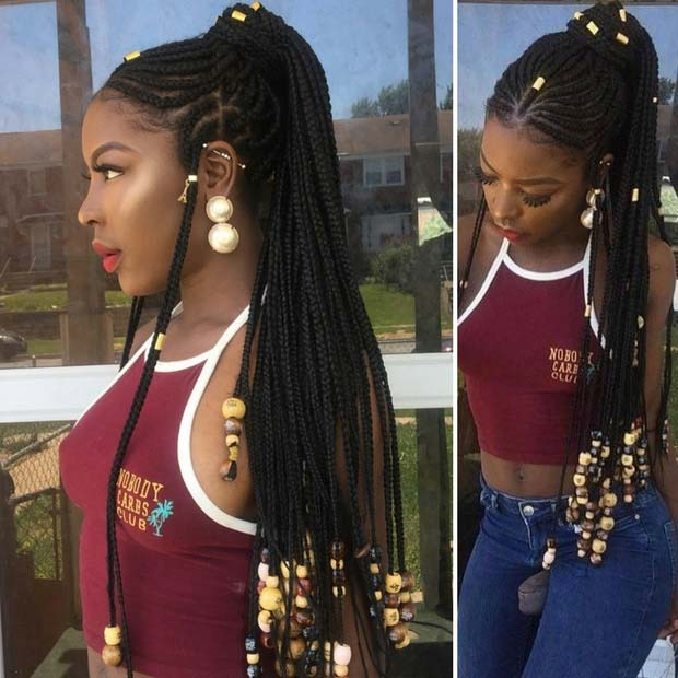 African braids by the Hausas