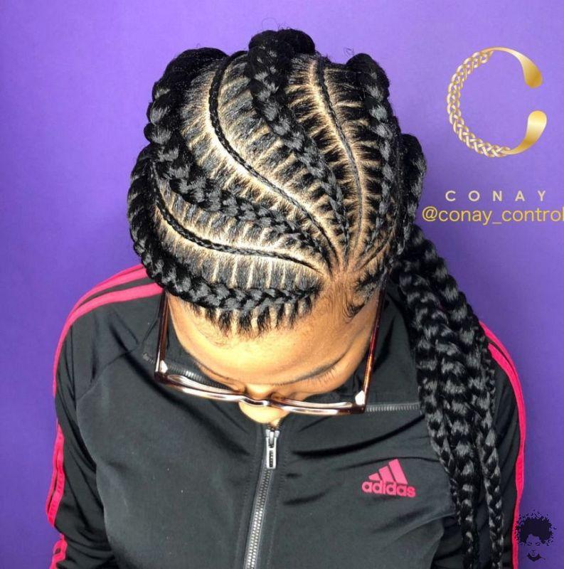 Brand New Ghana Weaving Hairstyles For Black Women001