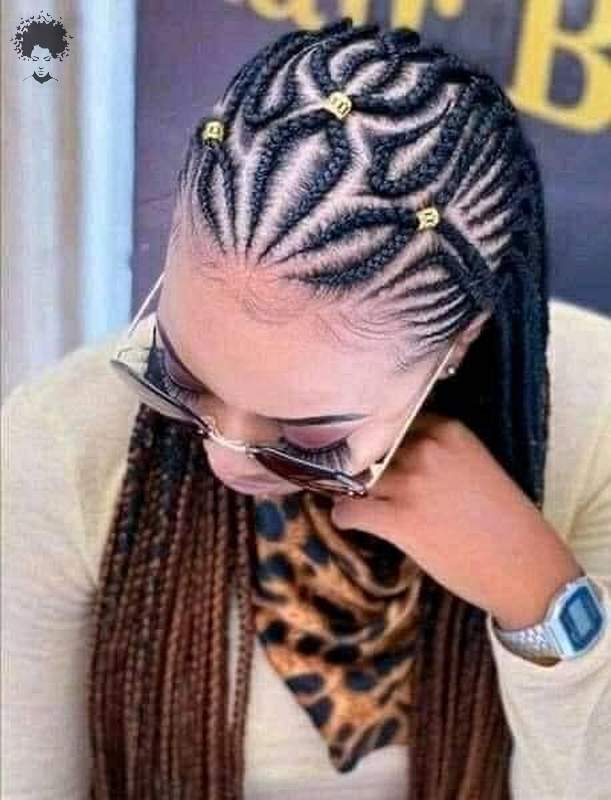 Hot and Stylish Black Braided Hairstyles031