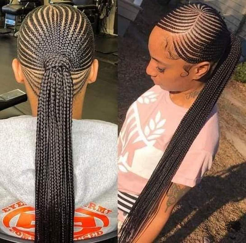 2021 Stylish Braid Hairstyles for African American Ladies01