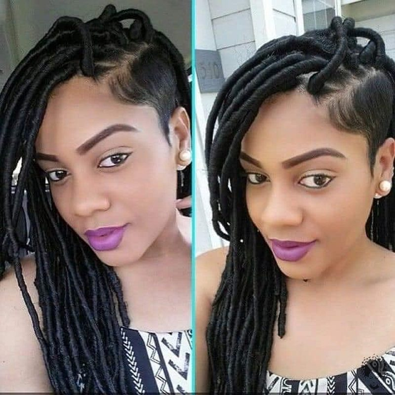 35 Gorgeous African Hair Braids to Spice Up Parties 02