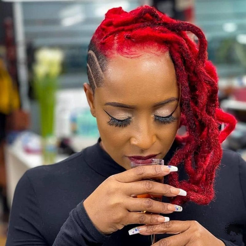 35 Gorgeous African Hair Braids to Spice Up Parties 07