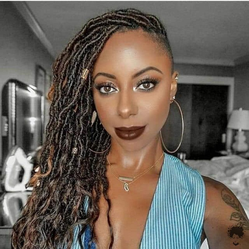 35 Gorgeous African Hair Braids to Spice Up Parties 14