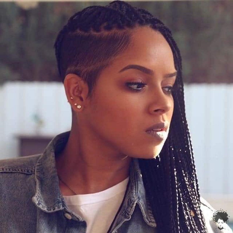 35 Gorgeous African Hair Braids to Spice Up Parties 19