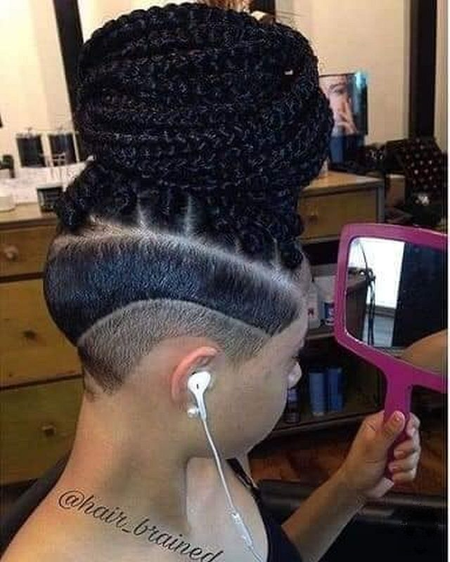 35 Gorgeous African Hair Braids to Spice Up Parties 28