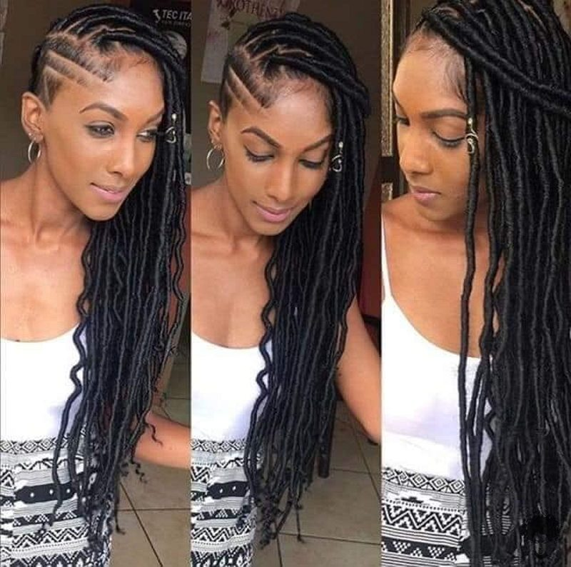 35 Gorgeous African Hair Braids to Spice Up Parties 30