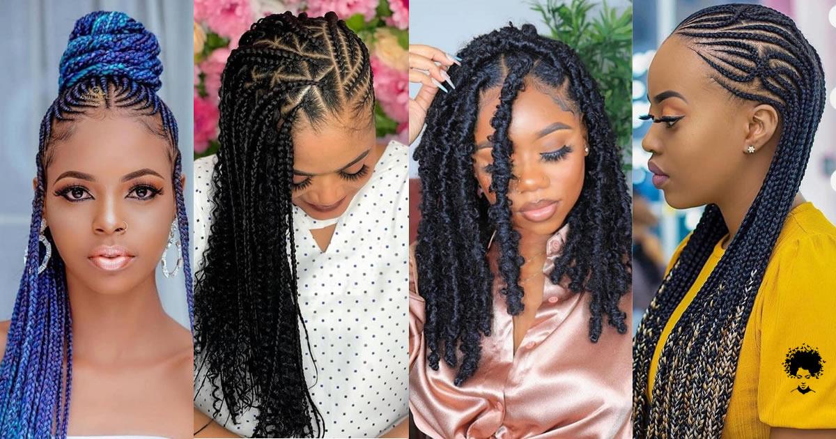 50 Trendiest Braids Hairstyles: 2021 Cute Hair Concepts For Hot Girls