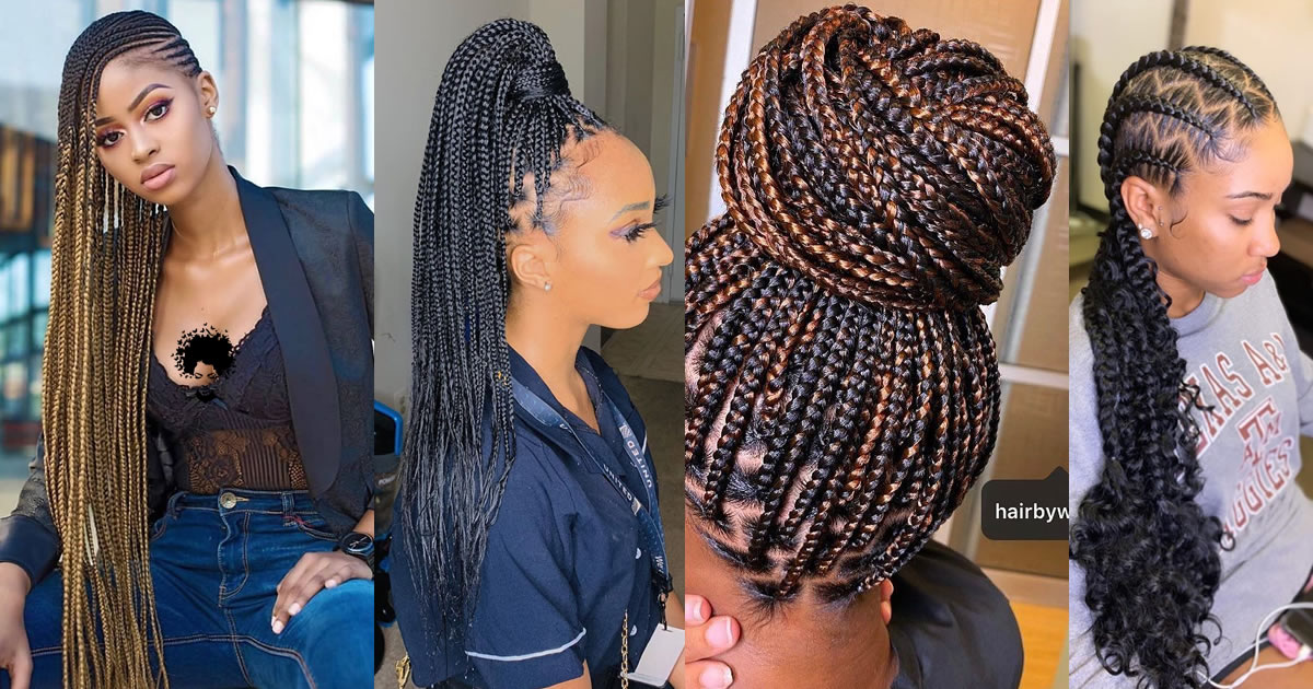 Which Hairstyle Is African Braid Suitable For?