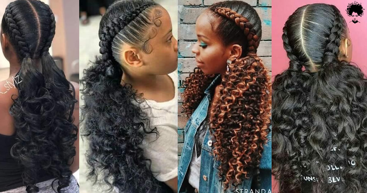 Would You Like To See Curly Hair And Braids Together? 56 African American Hairstyles