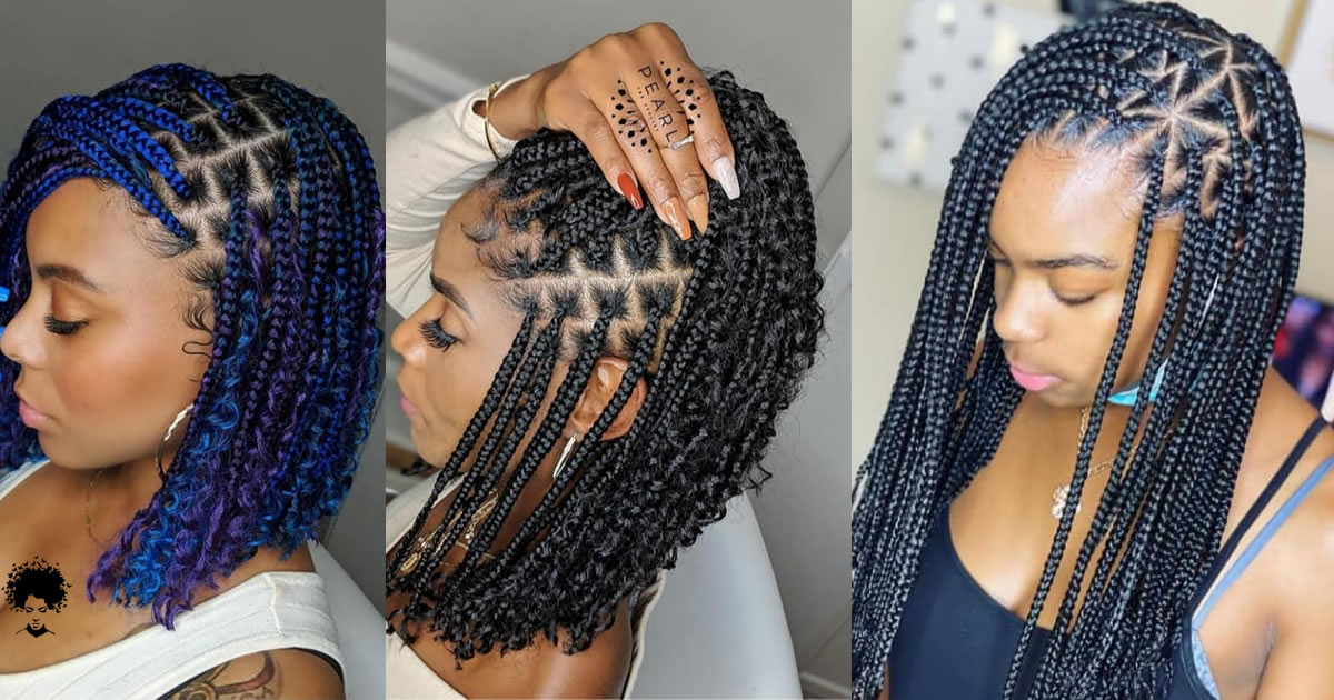You Can Have Geometric Shapes In Your Hair: 58 Black Women Hairstyles Ideas