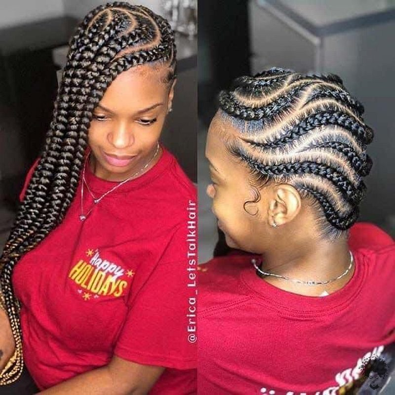 20 Gorgeous Ghana Hair Braids For Those Who Love Open Braids 01