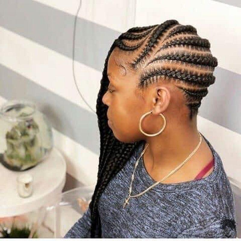 20 Gorgeous Ghana Hair Braids For Those Who Love Open Braids 18