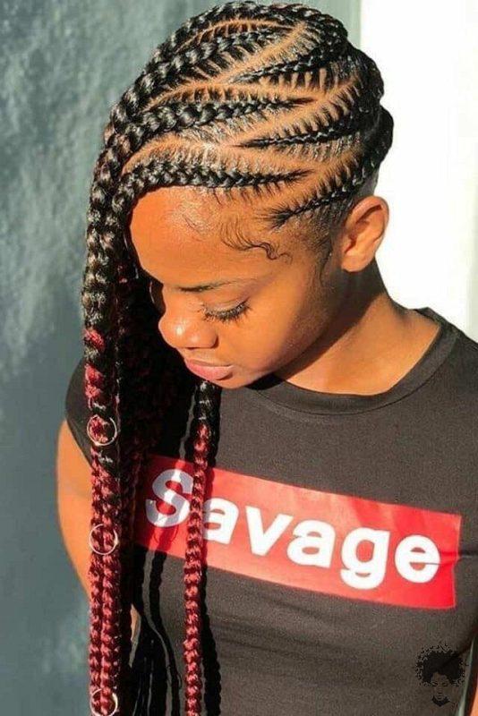 20 Gorgeous Ghana Hair Braids For Those Who Love Open Braids 20