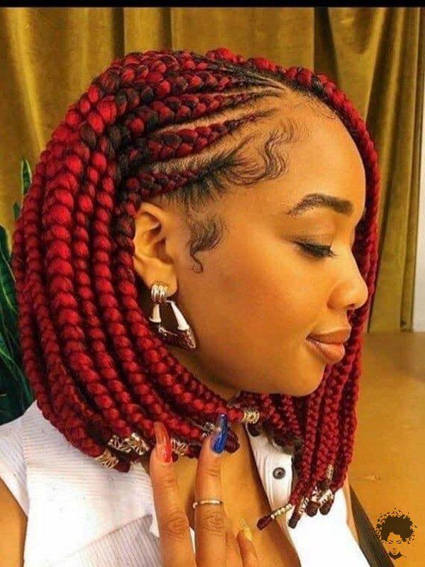 20 Gorgeous Ghana Hair Braids For Those Who Love Open Braids 21