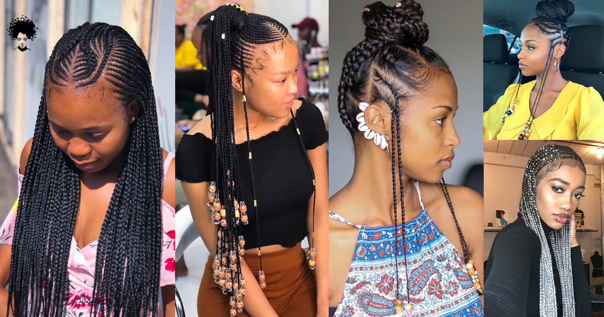 Top 50 Most Admired African Hair Braid Models of 2021