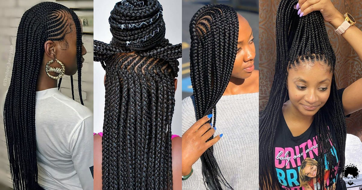 54 Box Braided Hairstyles That We Will See Frequently in 2021