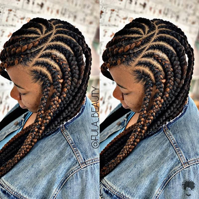Braided Hairstyles That Will Reflect Your Character 40