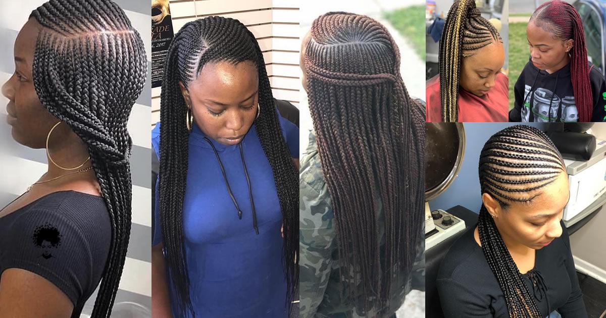 57 Ghana Hair Braiding Models Young Girls Will Love