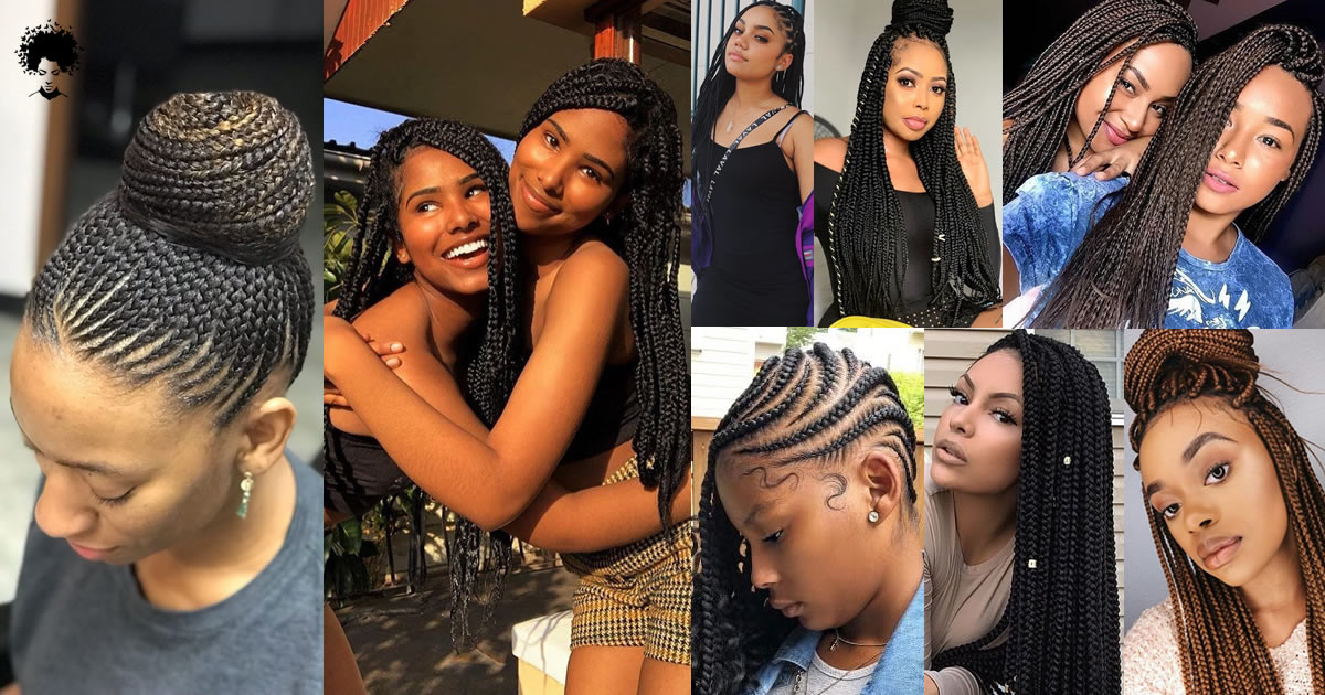 59 Photos: This Year's Trend Colored African Hair Braid Models