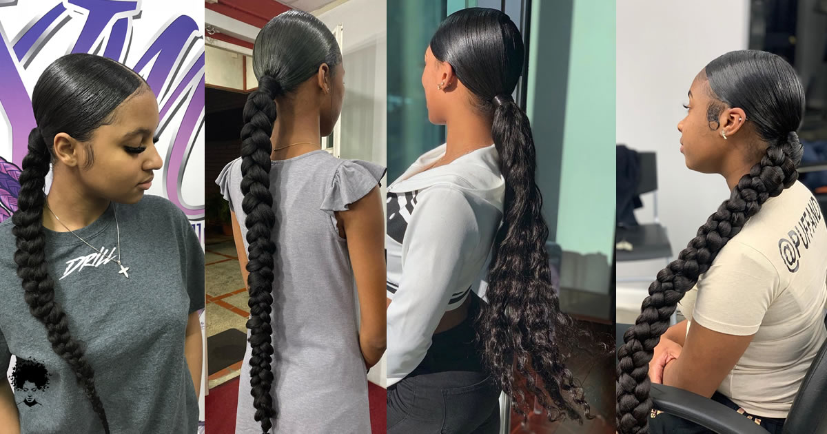 85 Elegant Ponytail Hairstyles for Special Occasions | The Secret of Beauty is Hidden in Braided Hair